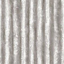 BHF fd22336Wieder Wellpappe Metall glanz Tapete–Silber