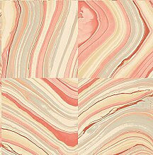 BHF fd22400KJ azmaara Marmor Tapete-Coral