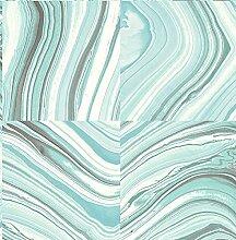 BHF fd22401KJ azmaara Marmor Tapete-Aqua