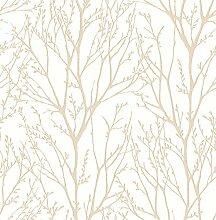 BHF fd22443KJ azmaara Herbst Tapete-Coral