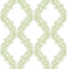 BHF fd22725Mirabelle Dotted Ogee Harmony grün