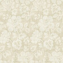 BHF fd22737Beige Mirabelle Dotted Floral Tivoli Floral Tapete–Taupe