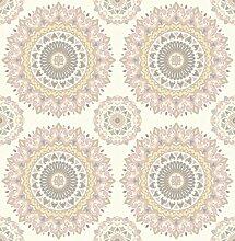 BHF sz001805Kismet Whisper Tapete, Light Pink