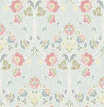BHF sz001806Kismet Dream Sky Nouveau Floral Tapete