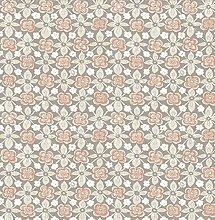 BHF sz001824Kismet Wander grau floral Tapete