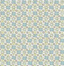 BHF sz001825Kismet Whisper türkis floral Tapete