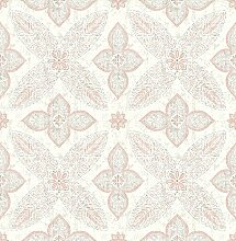 BHF sz001830Kismet Whisper Grey Geometric Floral