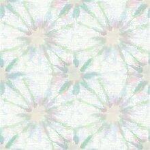 BHF sz001856Kismet Dream grün Shibori Tapete