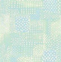 BHF sz001861Kismet Dream grün patchwork Tapete