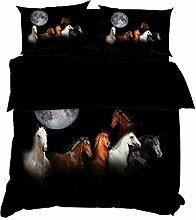 BHFDCR Bettbezug Bettwäsche Set Tierisches