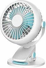 BHH@H Clip Lüfter Kleiner Ventilator Mini