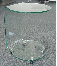 BHP BEST HOME PRODUCTS Glas-Beistelltisch mit 4