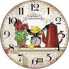 BHP Design Wand Uhr Küchen Aufdruck Ziffern