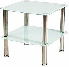 BHP Glasregal, Glas, LxBxH in cm: 45x45x43