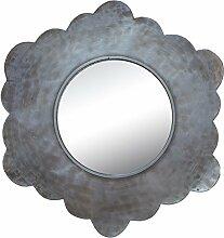 bhp Spiegel gerahmt, antik Silber 27,5cm