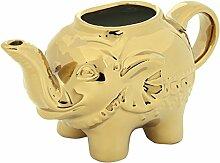 BIA Elefant Creamer Gold