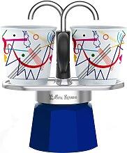 BIALETTI Espressokocher Mini Express Kandinsky, (1