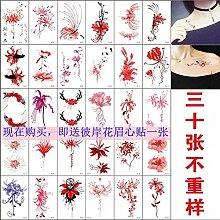 Bian Flower Tattoo Aufkleber Wasserdichte