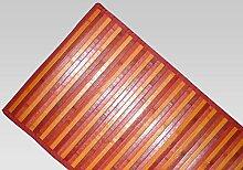 Biancheriaweb - Bambusteppich Degradè 55x230 cm ro