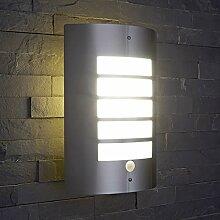 Biard E27 Wandlicht – Gehäuse aus Edelstahl –