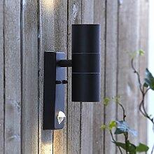Biard GU10 Wandlicht – Gehäuse aus schwarzem