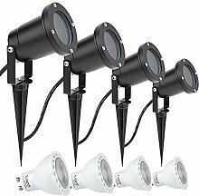Biard LED Außenleuchte Schwarz – Mit