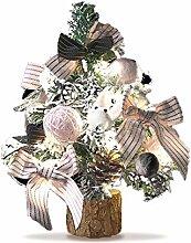 Biback Mini Künstliche Weihnachtsbaum Puppenhaus,