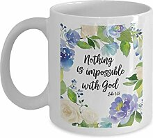 Bibel Versbecher für Frauen, NoTh-ing ist mit