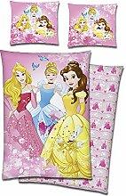 Biber Kinder Bettwäsche Disney Princess Velvet