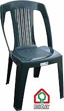 Bica 187.5Elba Stühle 55x 53x 180cm, grün, 53x 53x 87cm