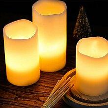Bicaquu LED Teelichter, Teelicht, LED mit
