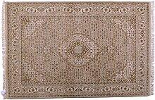 Bidjar Indien ca. 205 x 140 cm · Braun · handgeknüpft · Schurwolle · Klassisch · hochwertiger Teppich · S303207