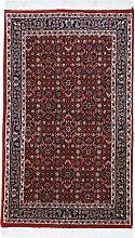 Bidjar Teppich Orientteppich 151x90 cm, Indien Handgeknüpft Klassisch