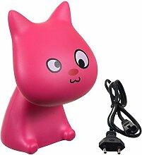 Bieco 04001380 - LED Lampe Katze