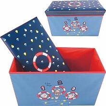 Bieco Aufbewahrungsbox Staubox und Sitzbank mit