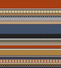 Biederlack 150x 200cm Baumwolle Decke/Überwurf Überwurf mit Indio-Muster, mehrfarbig Gemuster