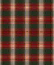 Biederlack Bunte Decke/Überwurf Tagesdecke, Trend Check, Rot/Grün rot/grün