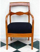 Biedermeier Armlehnstuhl aus Eschenholz, 1830er