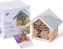 Bienenhotel & Blumensamen für Bienen - Ideales