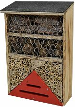 Bienenhotel mit Flachdach