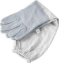 Bienenzbauer liefert 1 Paar Imkering Handschuhe