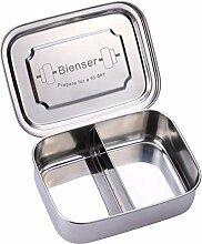 Bienser Edelstahl Brot-Dose I Lunch-Box I