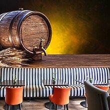 Bier Barrell Wandbild Essen & Trinken Foto-Tapete Küche Restaurant Dekor Erhältlich in 8 Größen Klein Digital