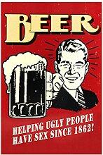 Bier, das hässliche Leute hilft, Sex seit 1862