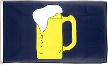 Bier Flagge, Fahne 60 x 90 cm, MaxFlags®
