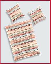 Bierbaum Biber Design 3060, Orange, Bettdecke