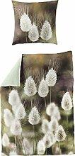 Bierbaum Satin Digitaldruck Design 5120, Oliv,
