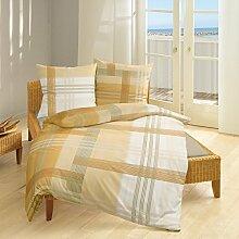 Bierbaum Single Jersey Bettwäsche 3104 Gold
