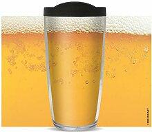 Bierbecher – isolierter Becher für Bier, 473