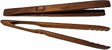 BierEx XXL Profi Grillzange aus Holz 32cm 320mm